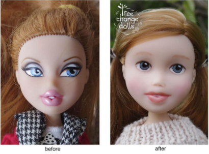 Avant-Apres Tree change dolls